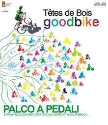 """Il """"Palco a pedali"""": le note a impatto zero dei Têtes de Bois"""