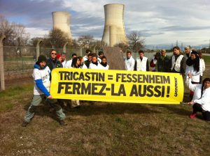 Greenpeace a Tricastin