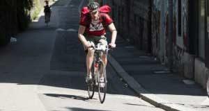 corriere in bici