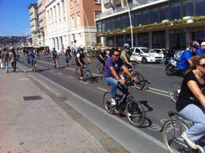 Lungomare in bici