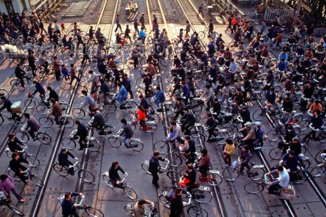 bici in cina