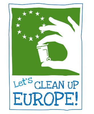 logo let's clean up europe