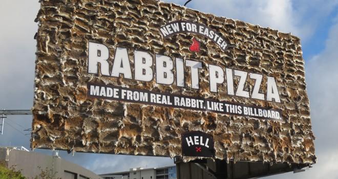 rabbit hell  pizza