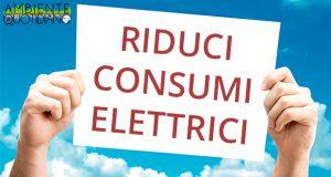 riduci consumi elettrici