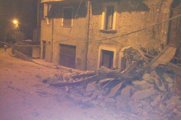 I danni del terremto ad Amatrice
