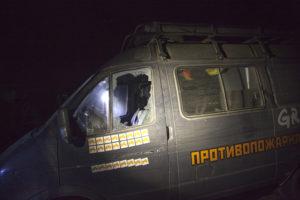 attacco Greenpeace Russia furgone