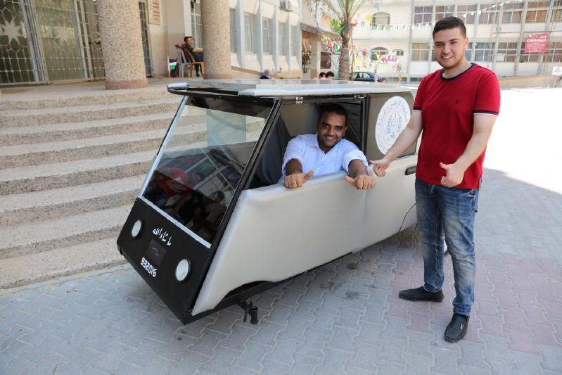 auto solare gaza