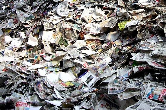 Il riciclo della carta al Miac