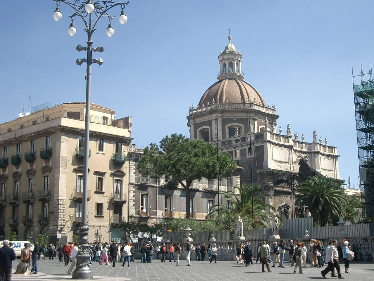 Raccolta differenziata a Catania