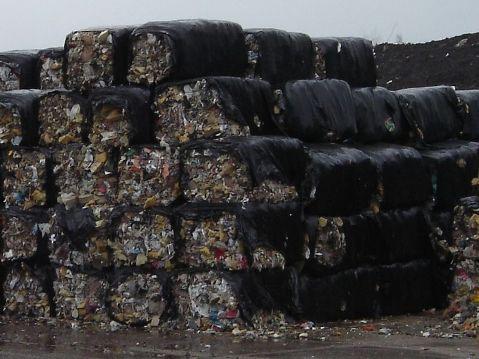rifiuti combustibili ecoballe