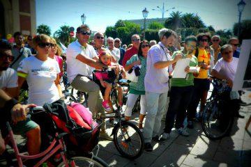 bici targate ciclo spazio