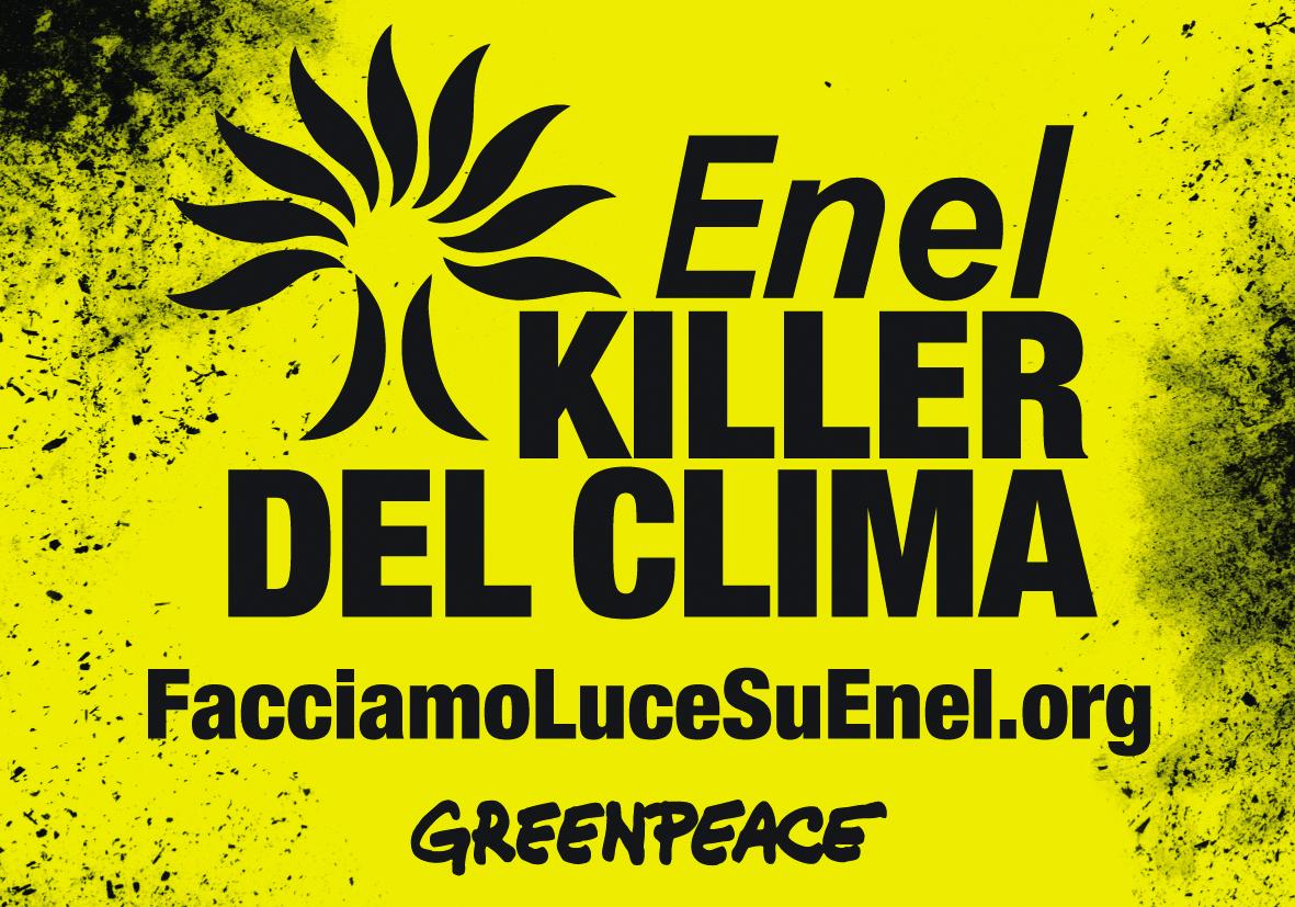 Greenpeace contro Enel
