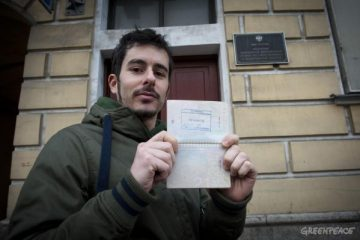 Cristian D'Alessandro Greenpeace Artic 30