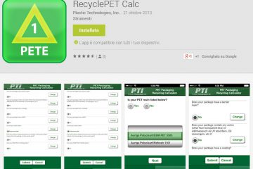 App pet recycling calculator