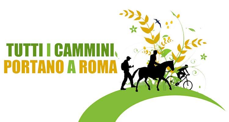 logo cammini di roma