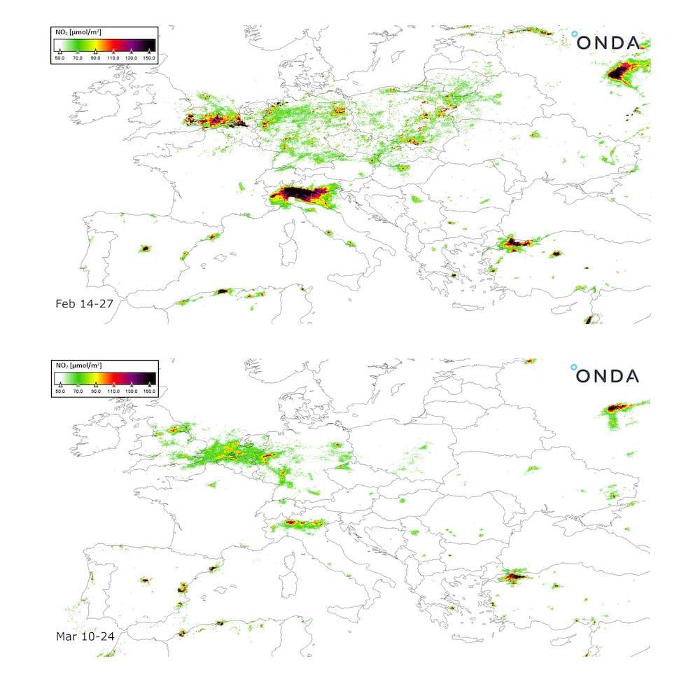 smog europa comparativa