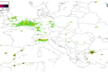 smog Europa oggi